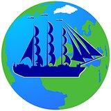 Sailing ship-4