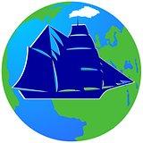 Sailing ship-5