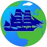 Sailing ship-7