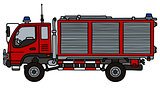 Small fire truck