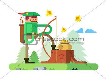 Character of Robin Hood