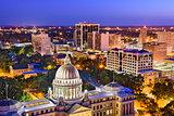 Jackson Mississippi Skyline