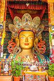 Maitreya Buddha in Thiksey Monastery,