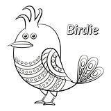 Funny Bird, Contour