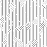 Abstract geometric striped pattern