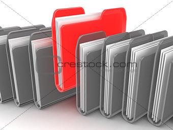 folder selection