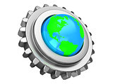 earth gear wheel