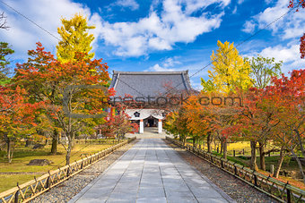 Autumn Temple in Kyoto