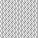 Vector seamless pattern. Modern stylish texture. Geometric ornament with striped rhombuses