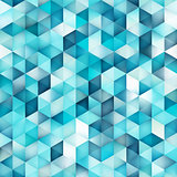 Vector Seamless Multicolor Gradient Triangle Shape Grid Geometric Pattern