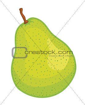 green pear fruit