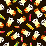 Seamless pattern for Halloween