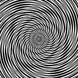 Circular vortex movement.