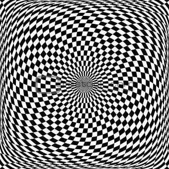 Circular rotation movement.