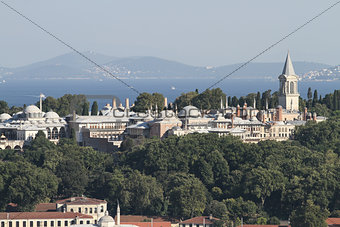 Topkapi Palace in Istanbul City