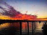 Sunset Mariehamn