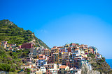 Manarola in Cinque Terre, Italy - July 2016