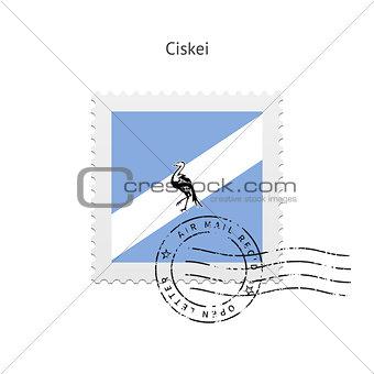 Ciskei Flag Postage Stamp.