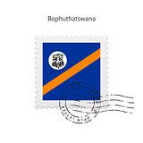Bophuthatswana Flag Postage Stamp.