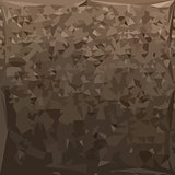 Antique Brass Camo Abstract Low Polygon Background