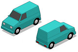 Orthographic van