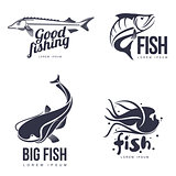 set logo sea fish