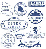 Essex county, NJ, generic stamps and signs