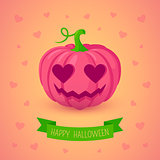 Inlove pink pumpkin.