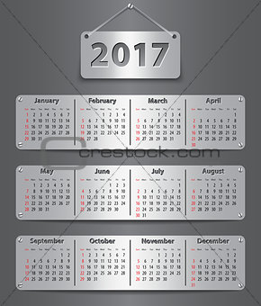 2017 English calendar_tablet