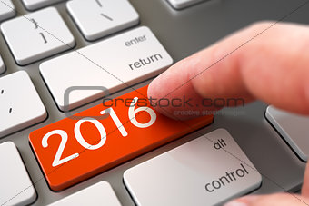 2016 - Keyboard Key Concept.