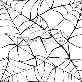 Black web seamless background