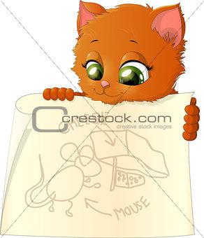 Kitten holding circuit