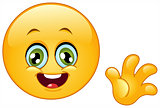 Hello emoticon