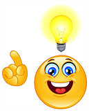Idea emoticon