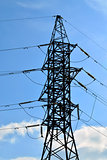 Power line closeup