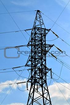 Power line closeup