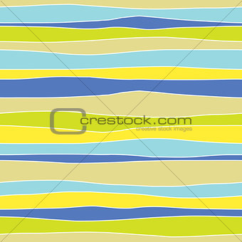 Abstract horizontal colorful seamless pattern