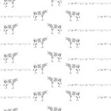 Pattern with cows.