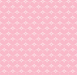 Vector seamless pattern with hearts and stars