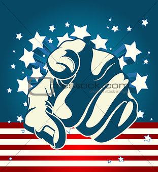 American Starburst Forefinger