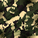 Drapery camouflage fabric textile background