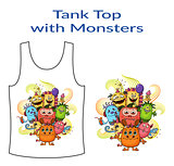 Cartoon Monsters Group