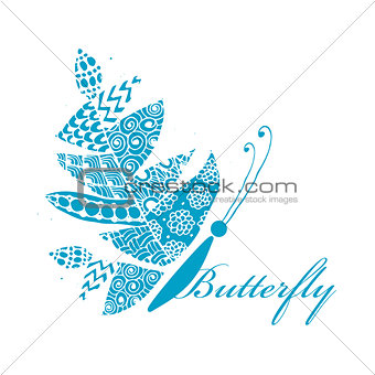 Art butterfly for your design