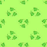 Summer Seamless Leaves Pattern