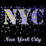 New York T-shirt Emblem. Vintage Sport Pattern.