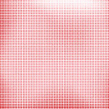 Red Halftone Texture