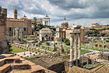 Look at the Forum in Rome