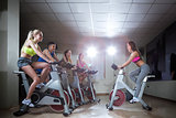 Instructor on cycle