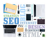 Seo and copywriting concepts