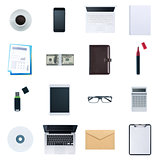 Business desktop objects set